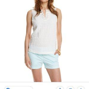 Vineyard Vines Shimmer Stripe Linen Shirt